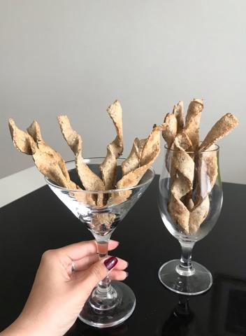 Crackers diététiques